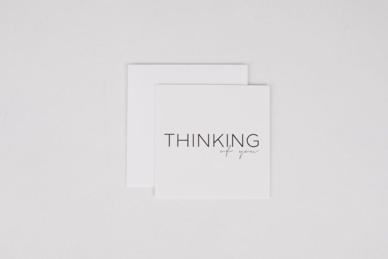 Thinking of You Mini Note Card