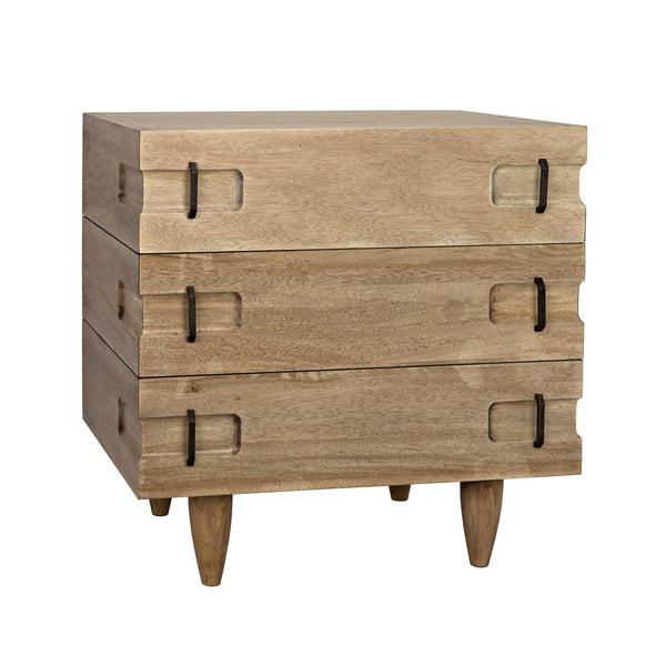 Tonga Chest - Washed Walnut
