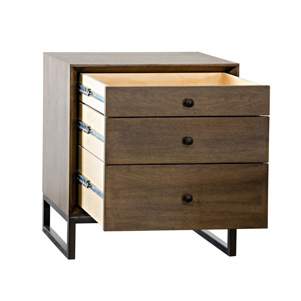Tybalt 3-Drawer Side Table