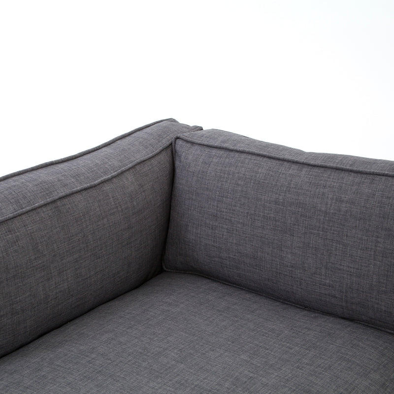 Grammercy Charcoal Grey Sectional