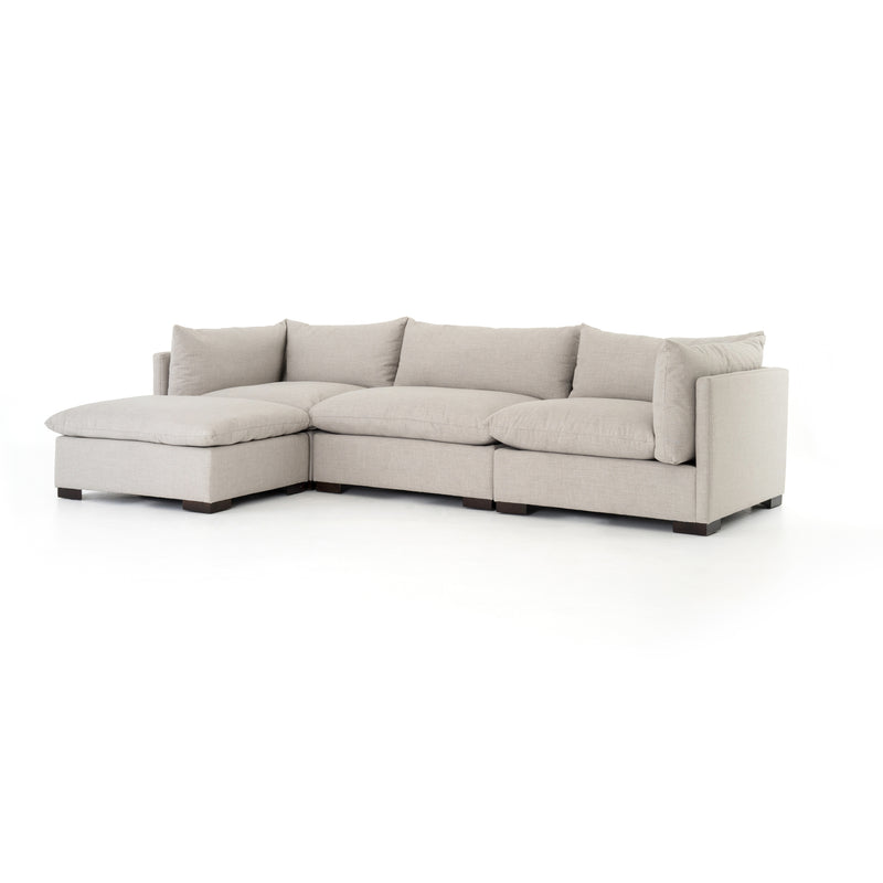 Westend Sectional - Moon Grey