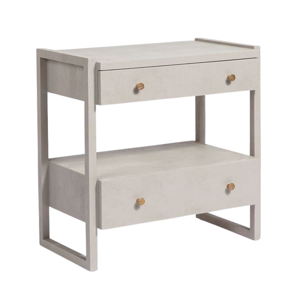 Carington Nightstand - French Grey