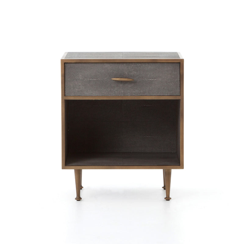 Shagreen Nightstand
