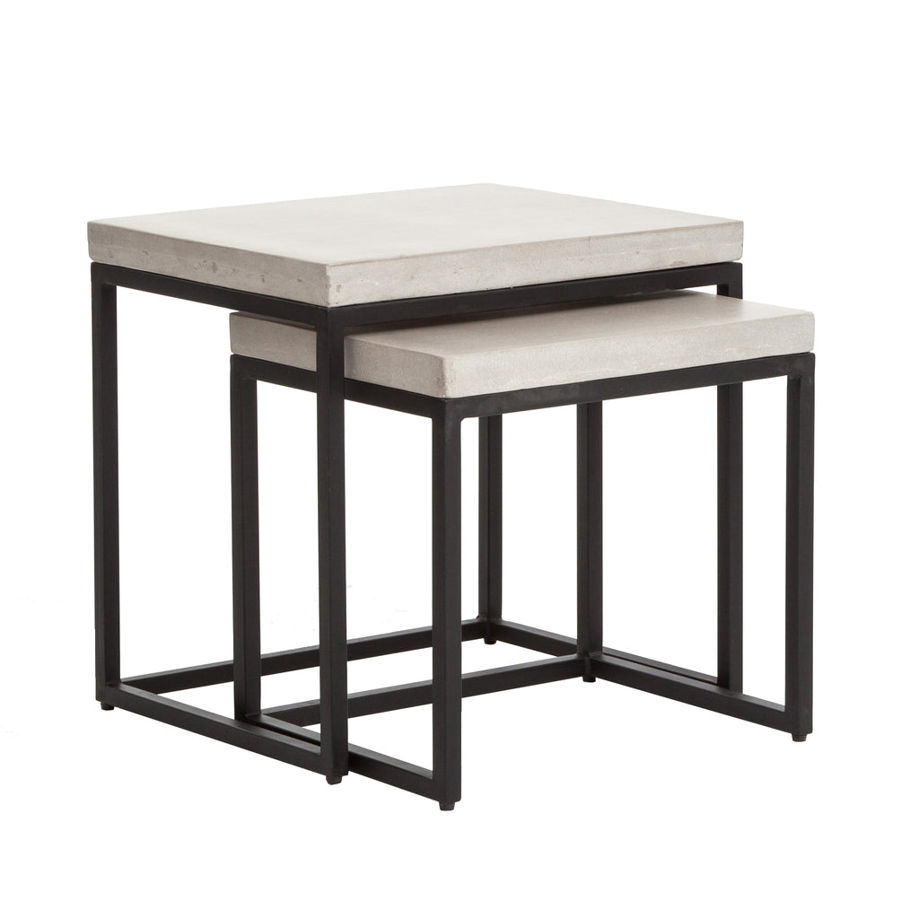 Aparte Side Table.Maximus Nesting Side Tables