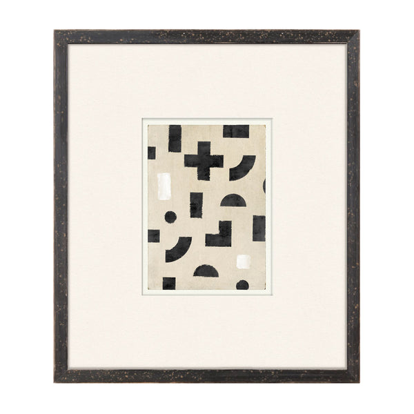 Geometry Lessons VIII Framed Print