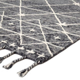 Varia Pewter/White Rug