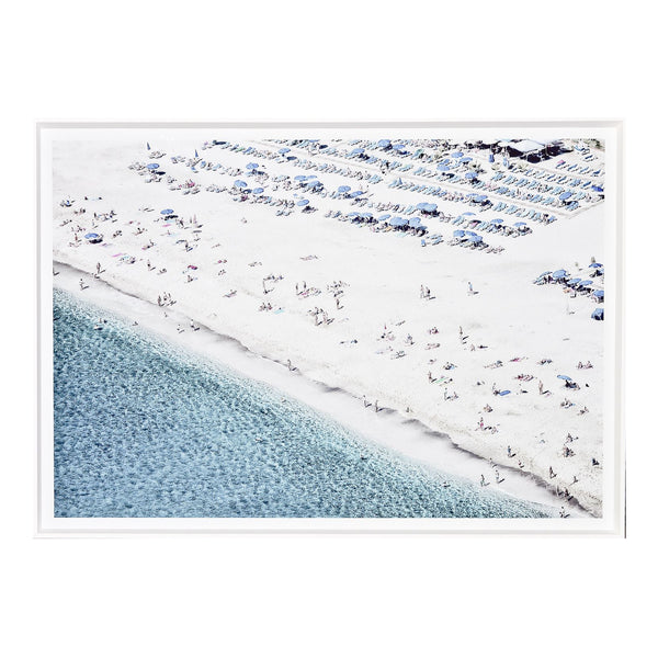 White Sand View II Framed Print