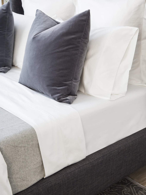 White Terry Pillowcase