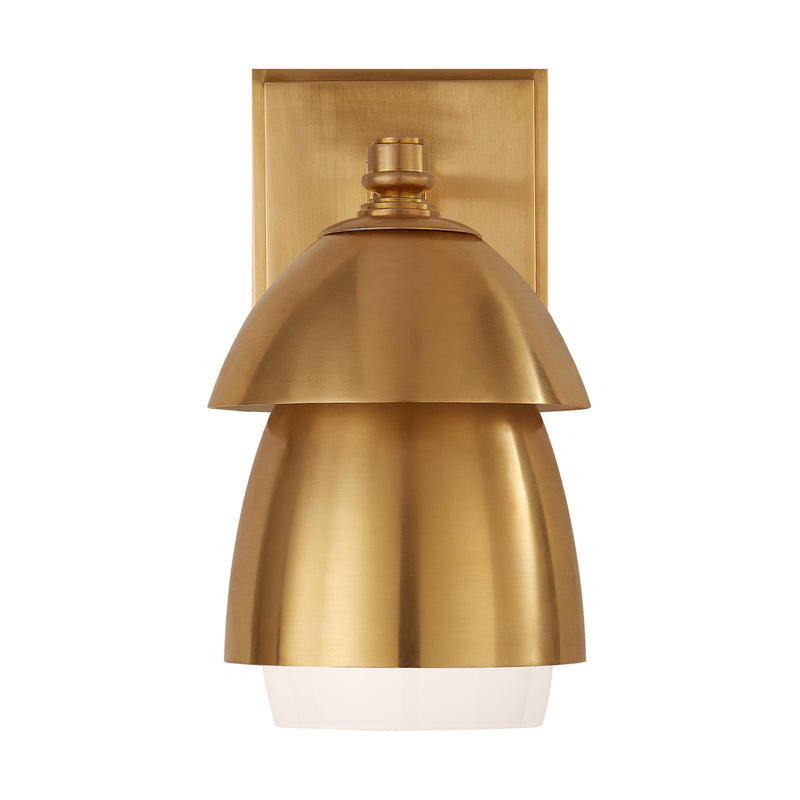 Whitman Small Sconce - Brass