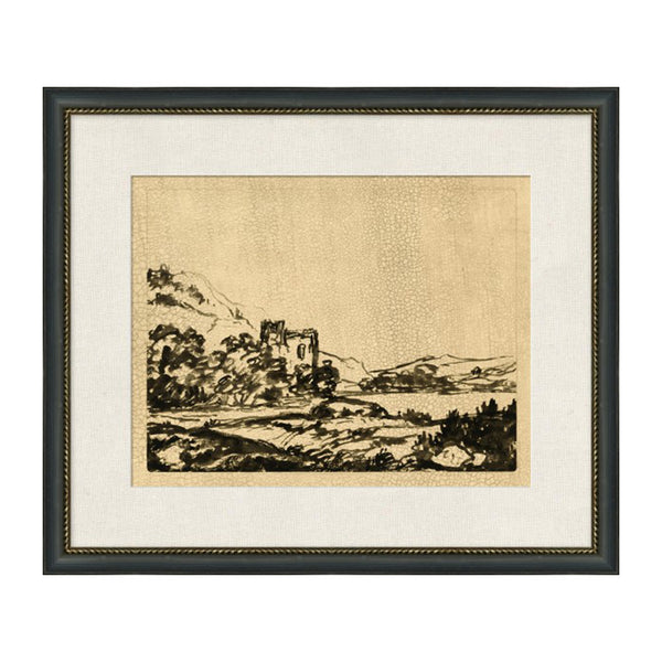 Wandering Wood Framed Print I