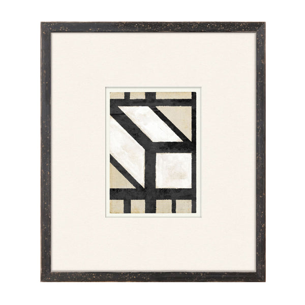 Geometry Lessons X Framed Print