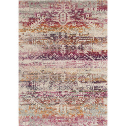 Zehla Sunset/Ivory Rug