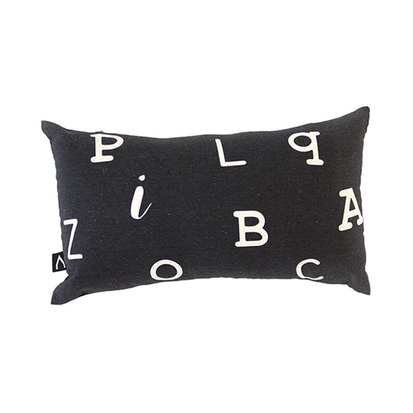 Alphabet Lumbar Pillow