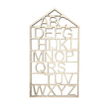 Wood Alphabet Wall Hanging