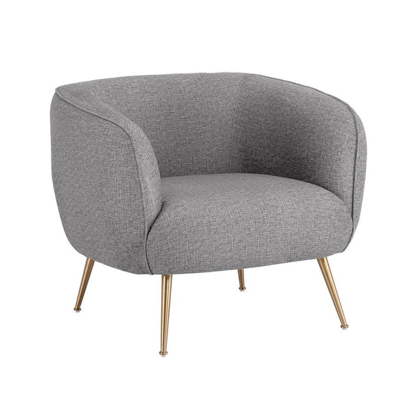 Anaya Armchair - Misty Grey