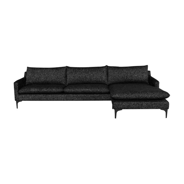 Andie Sectional - Salt & Pepper