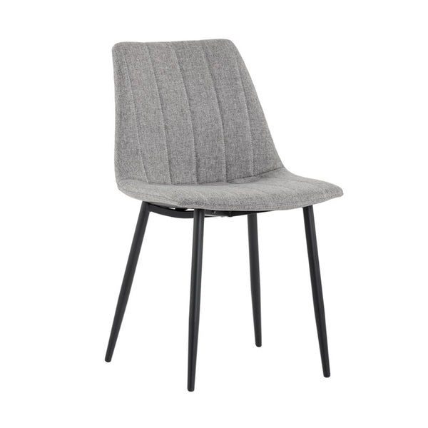 Angelo Dining Chair - Black / Grey