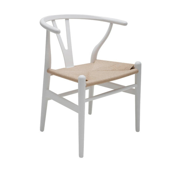 Bain Dining Chair - White