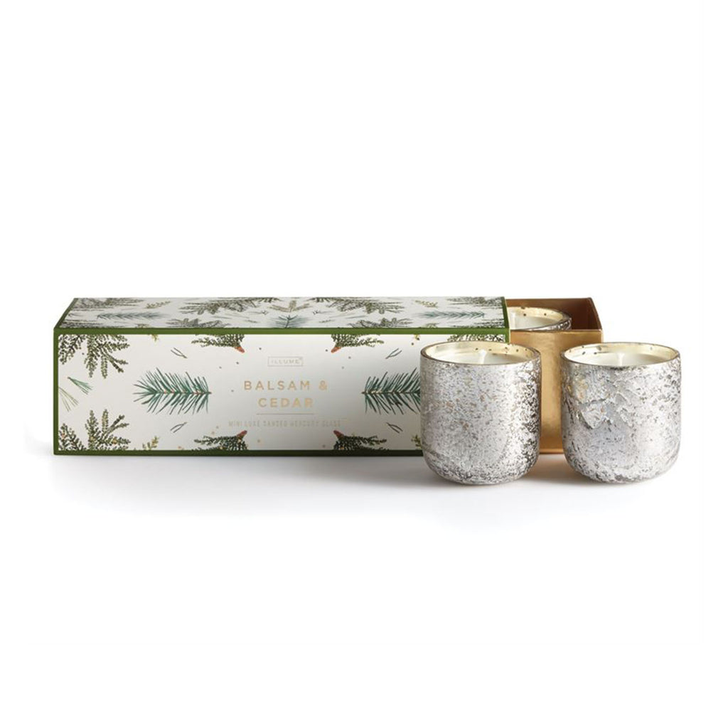 Balsam & Cedar Mini Luxe Trio Set