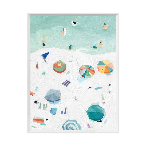 Beachin' II Framed Print