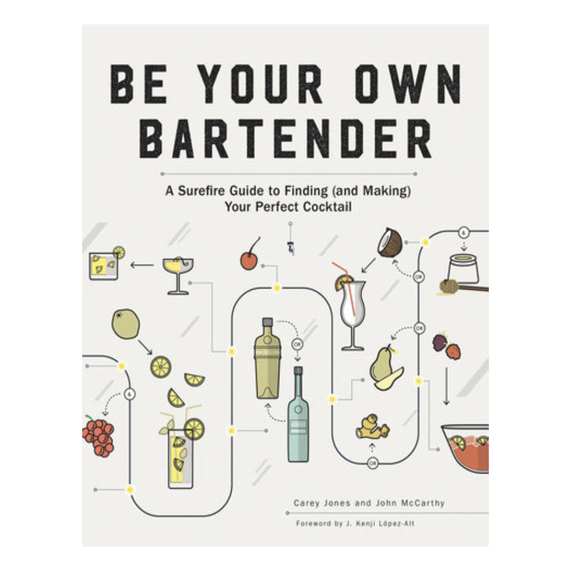 Be Your Own Bartender Book