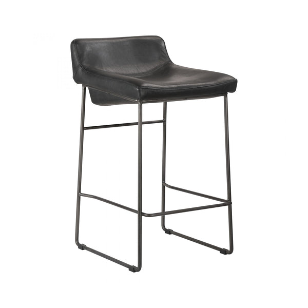 Los Angeles - Estella Counter Stool - Black
