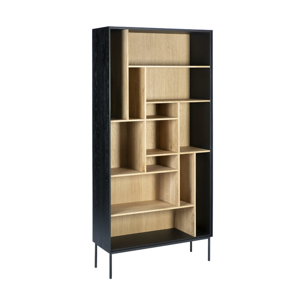 Oak Blackbird Bookcase