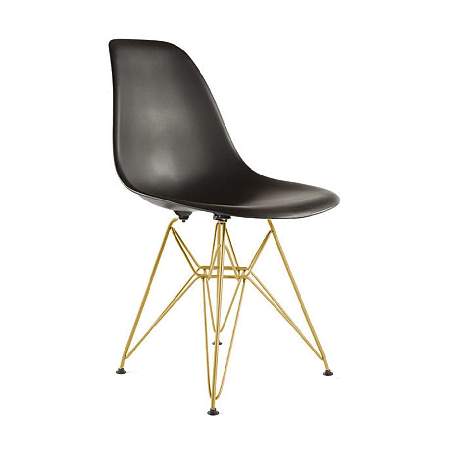 Eiffel Chair Black and Gold
