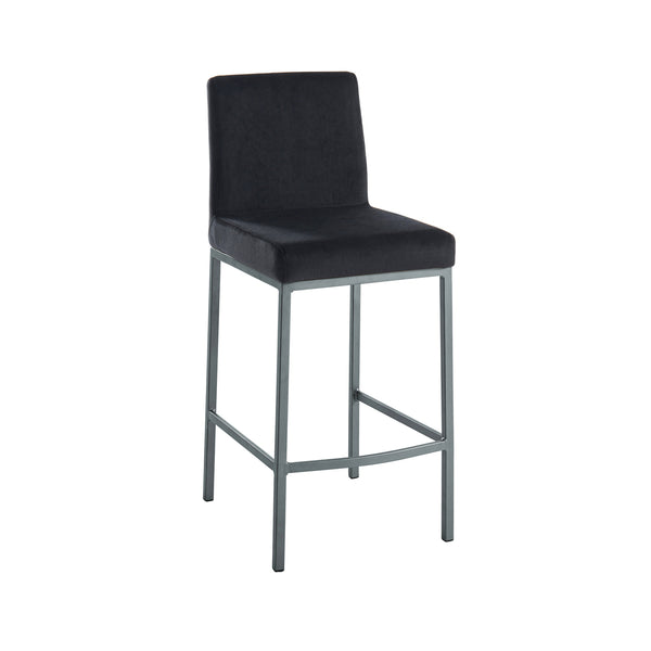 Petra Counter Stool - Black/Grey
