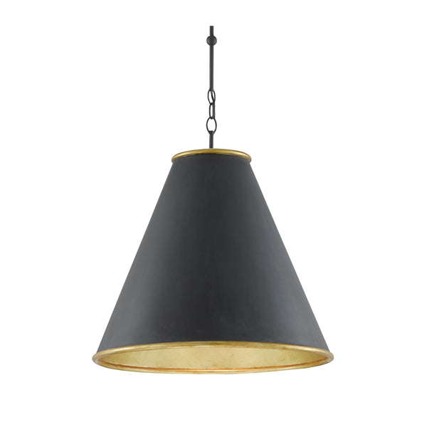 Pierre Large Pendant - Black