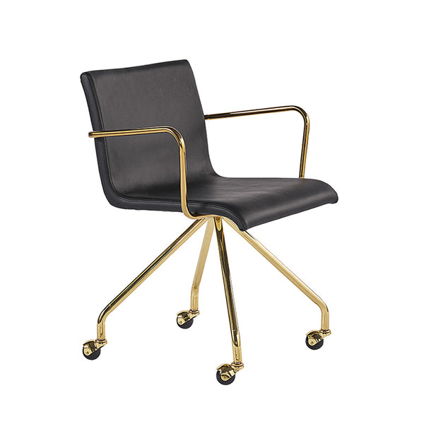 Dionysus Black Office Chair