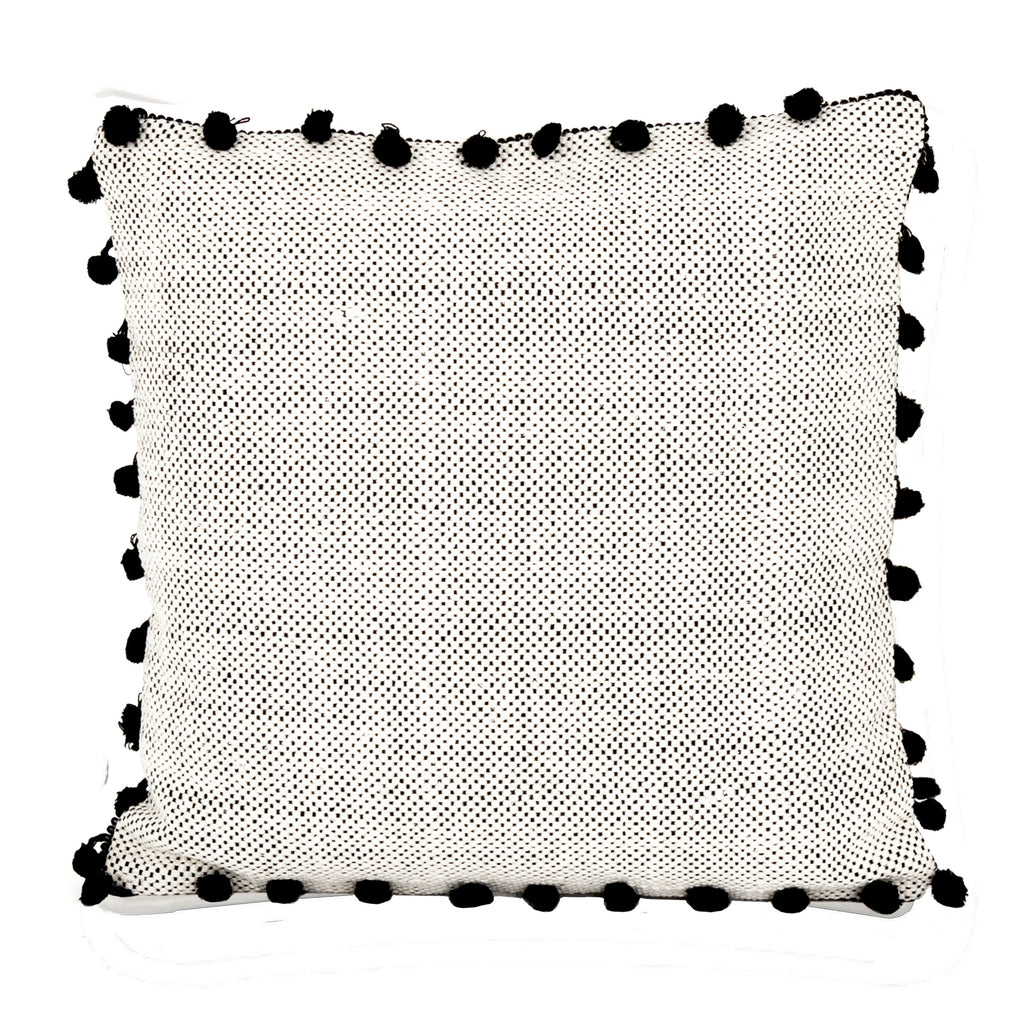 Black Tassel Pillow