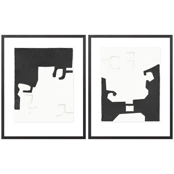 Cut-Outs Framed Print