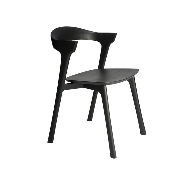 Oak Bok Dining Chair - Black