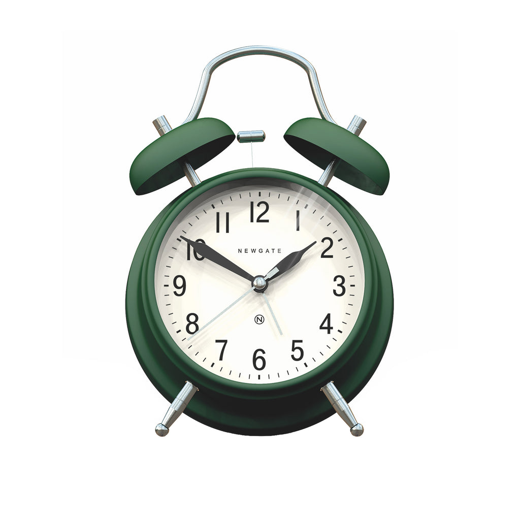 Brick Lane Alarm Clock - Green