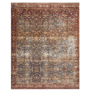Bronwyn Denim/Brick Rug