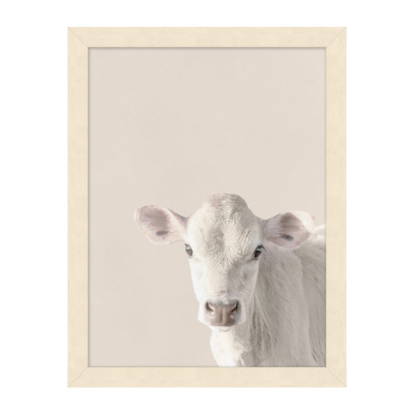 MacDonald's Calf Framed Print