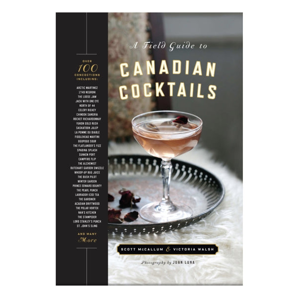 A Field Guide to Canadian Cocktails Book