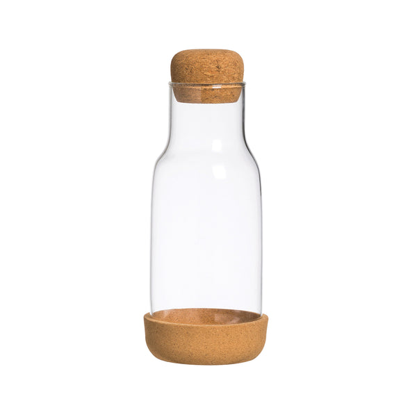 Glass & Cork Carafe