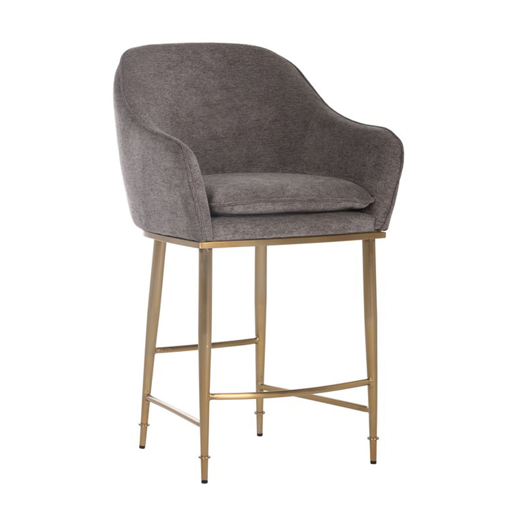 Carla Counter Stool - Sparrow Grey