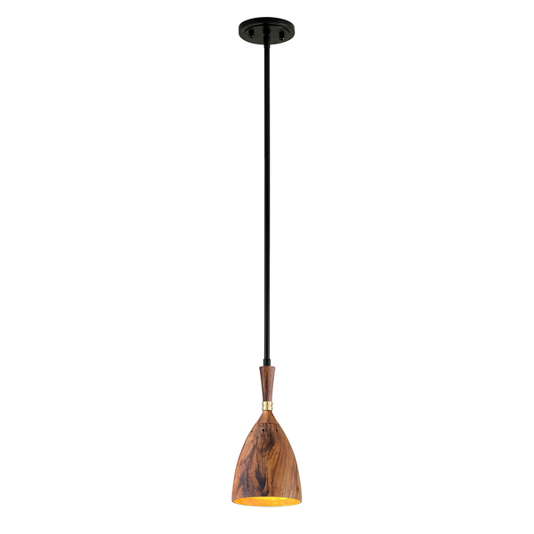 Chriswell Pendant - Wood