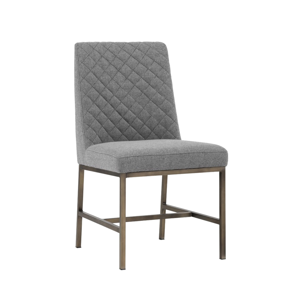 Leigh Dining Chair - Grey