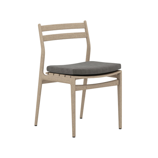 Parke Outdoor Dining Chair - Charcoal