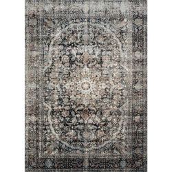 Anastasia Charcoal/Sunset Rug