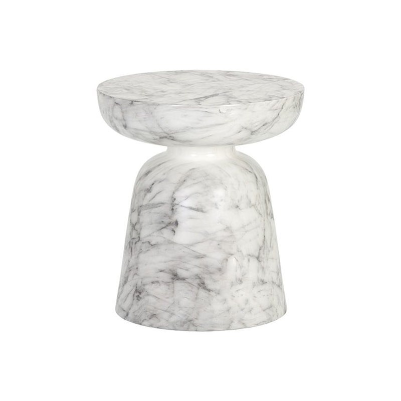 Cida Side Table - White
