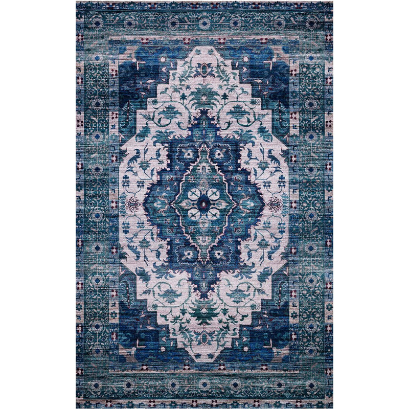 Cielo Ivory / Turquoise Rug
