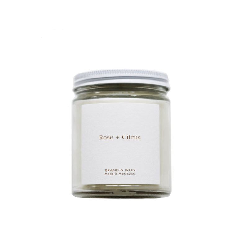Rose and Citrus Candle