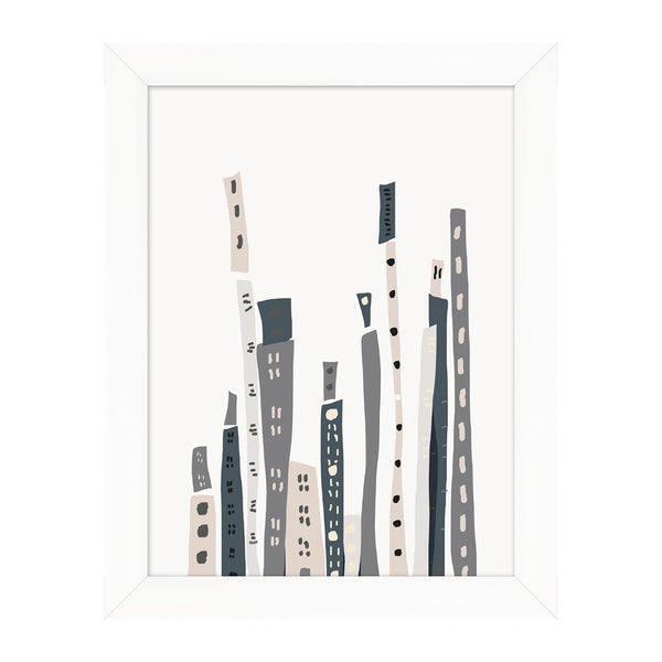 City Dweller 1 Framed Print
