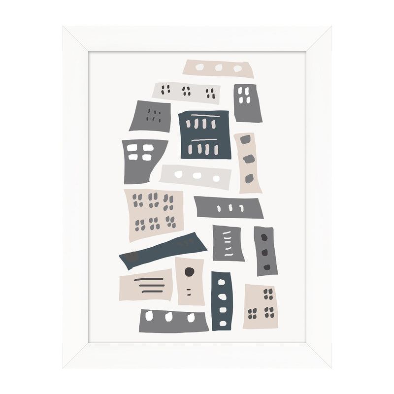 City Dweller 2 Framed Print