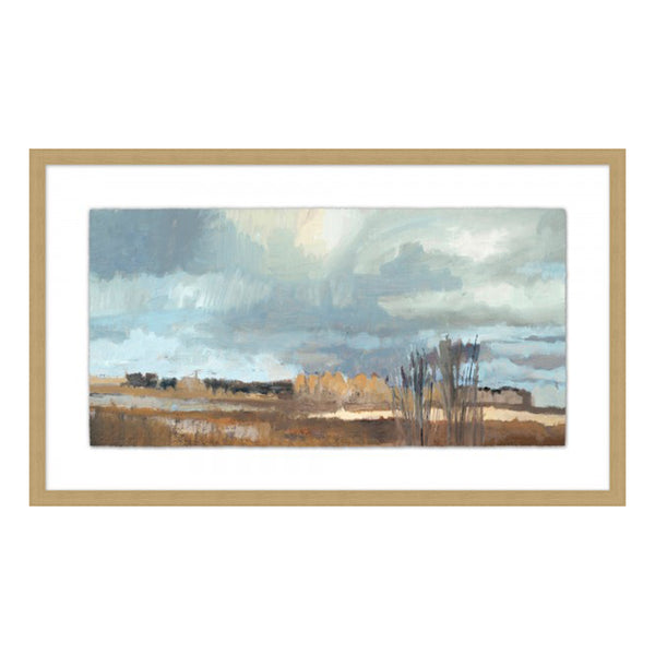 Cloud Watching Framed Print